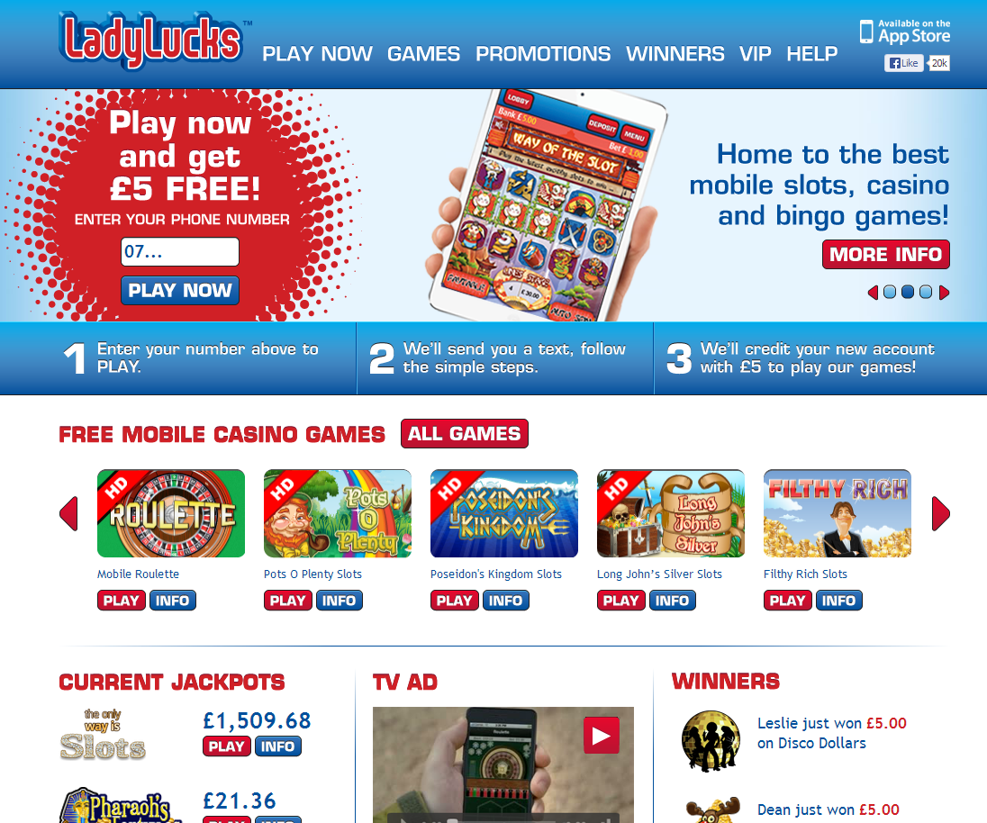free casino games for mobile phone