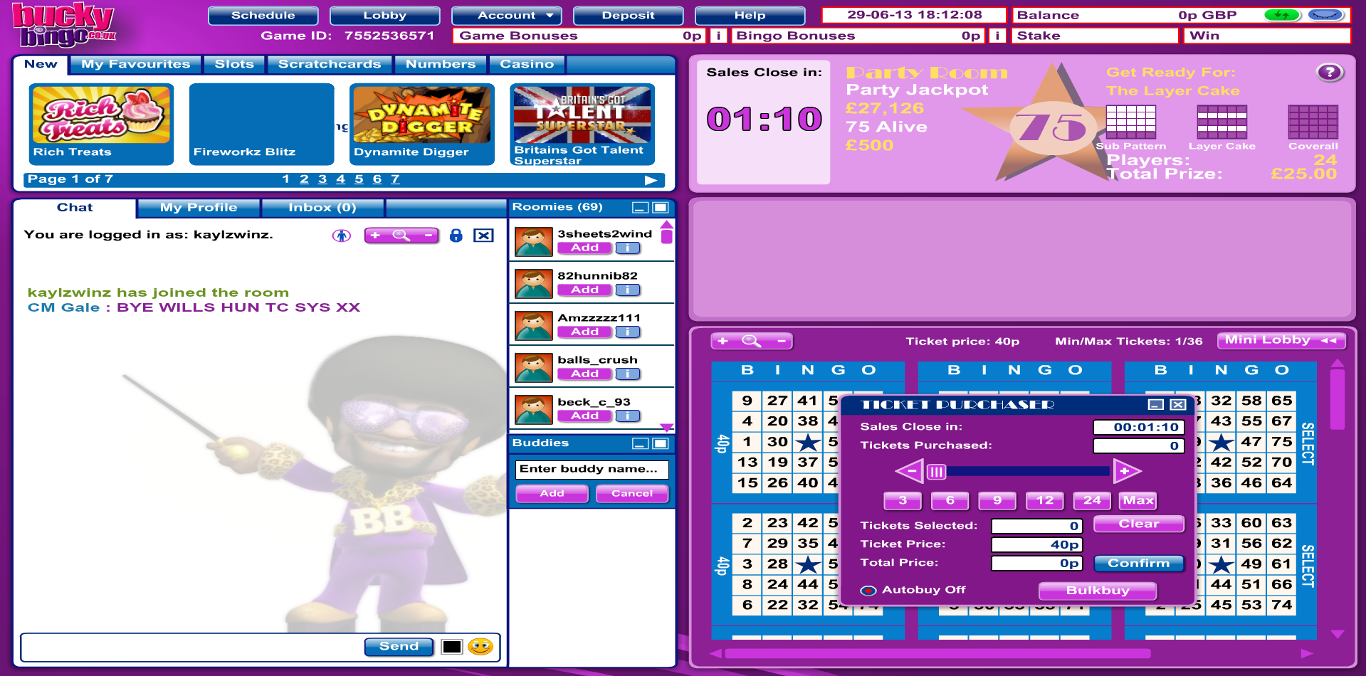 Bucky Bingo Review – Is this A Scam/Site to Avoid