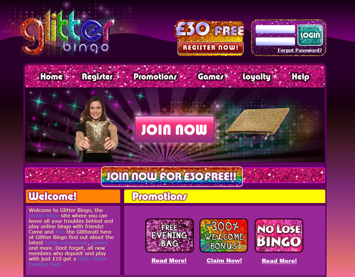 Glitter Bingo review image