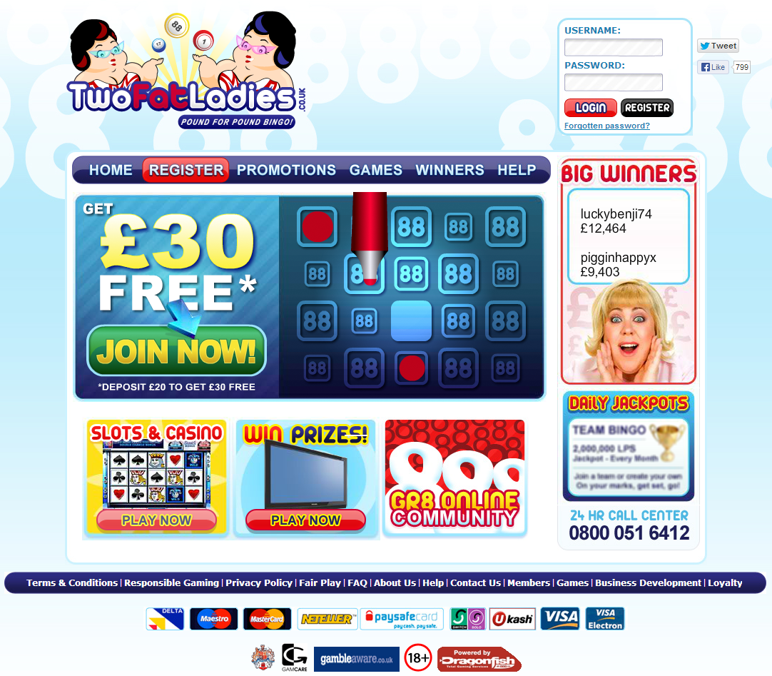 Two Fat Ladies Bingo Review – Is this A Scam Site to Avoid