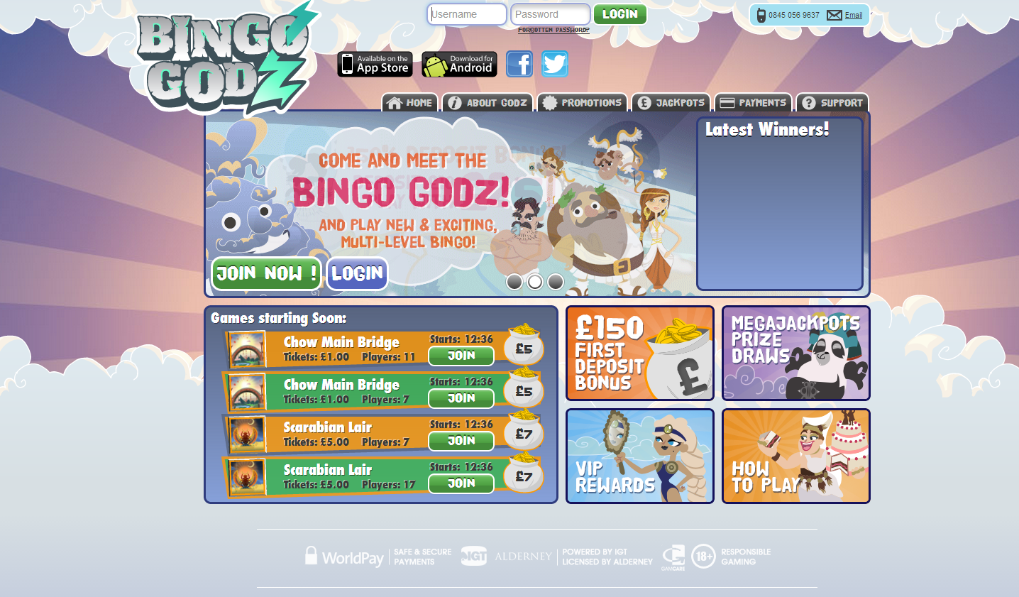 Bingo Godz review image