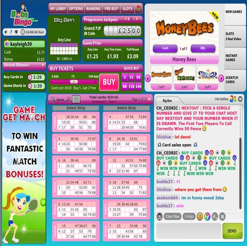 Bobs Bingo review image